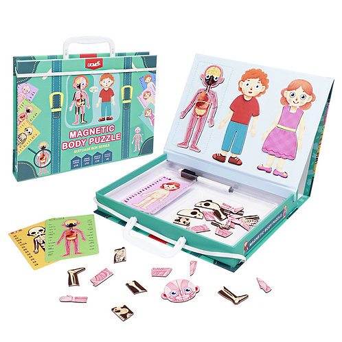 UCMD Magnetic Body Puzzle Suitcase Box Series