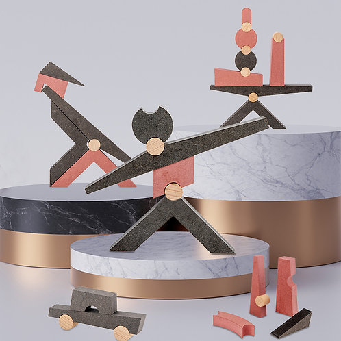38pcs Dynamic Balance Building Blocks