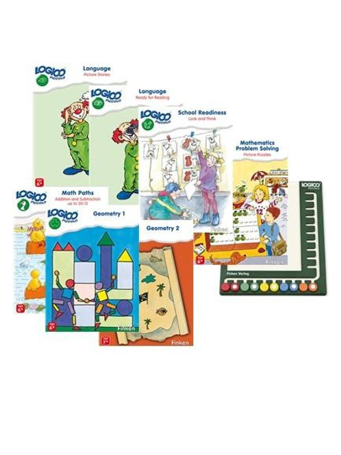 LOGICO Piccolo set (7 books) with board