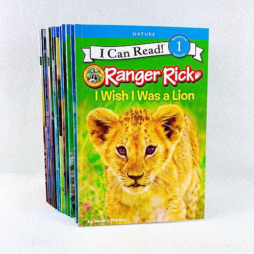 I Can Read - Ranger Rick (14 Volumes)