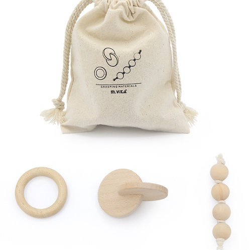 Montessori 3-piece Newborn Sensory Play Set