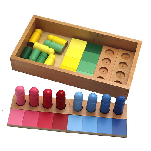 Montessori Colour Resemblance Sorting Blocks
