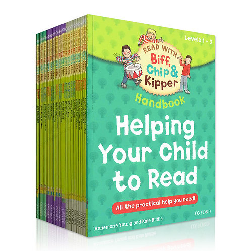 Read With Biff Chip and Kipper -Helping Your Child To Read (33 Volume)