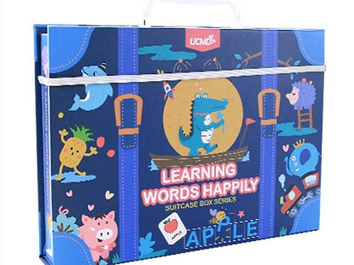 UCMD Learning Words Happily Suitcase Box Series