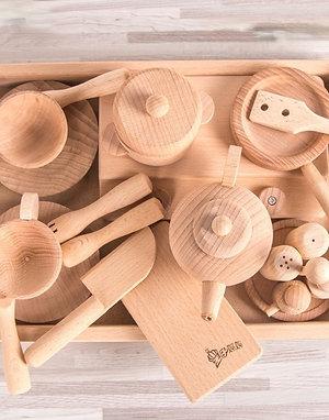 Beechwood Original Ecological Tableware Set