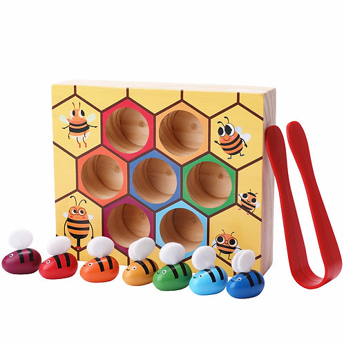 Little Bee Colour Cognition Insect Catching Play House