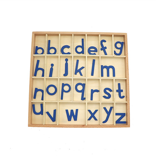 Montessori Teaching Aid Alphabet Letter Activity Box