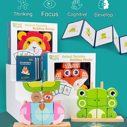 Creative Animal Variable Building Blocks