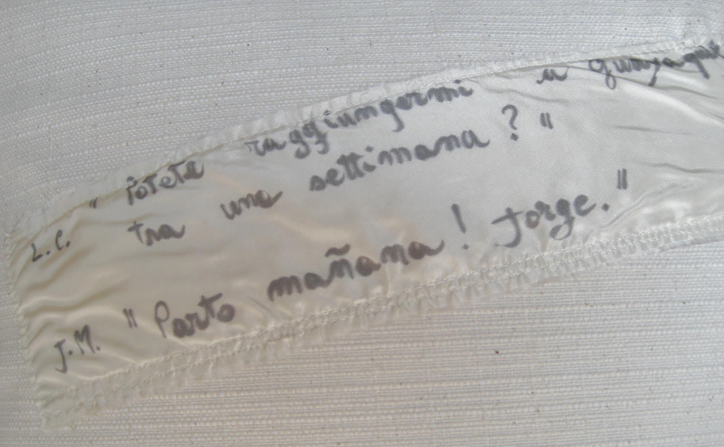 Cuscini Parlanti   Mara Montanari