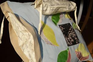 Bellbird cushion