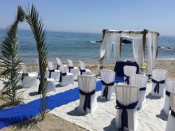 wedding setting in spain