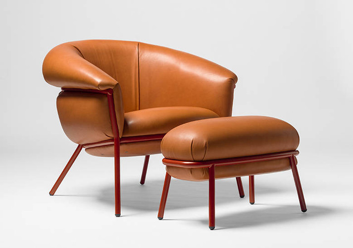 Grasso Arm Chair for BD Barcelona by Stephen Burks