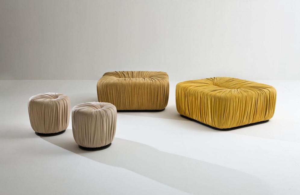 Drapè Pouf for LauraMeroni by Bertolli Design