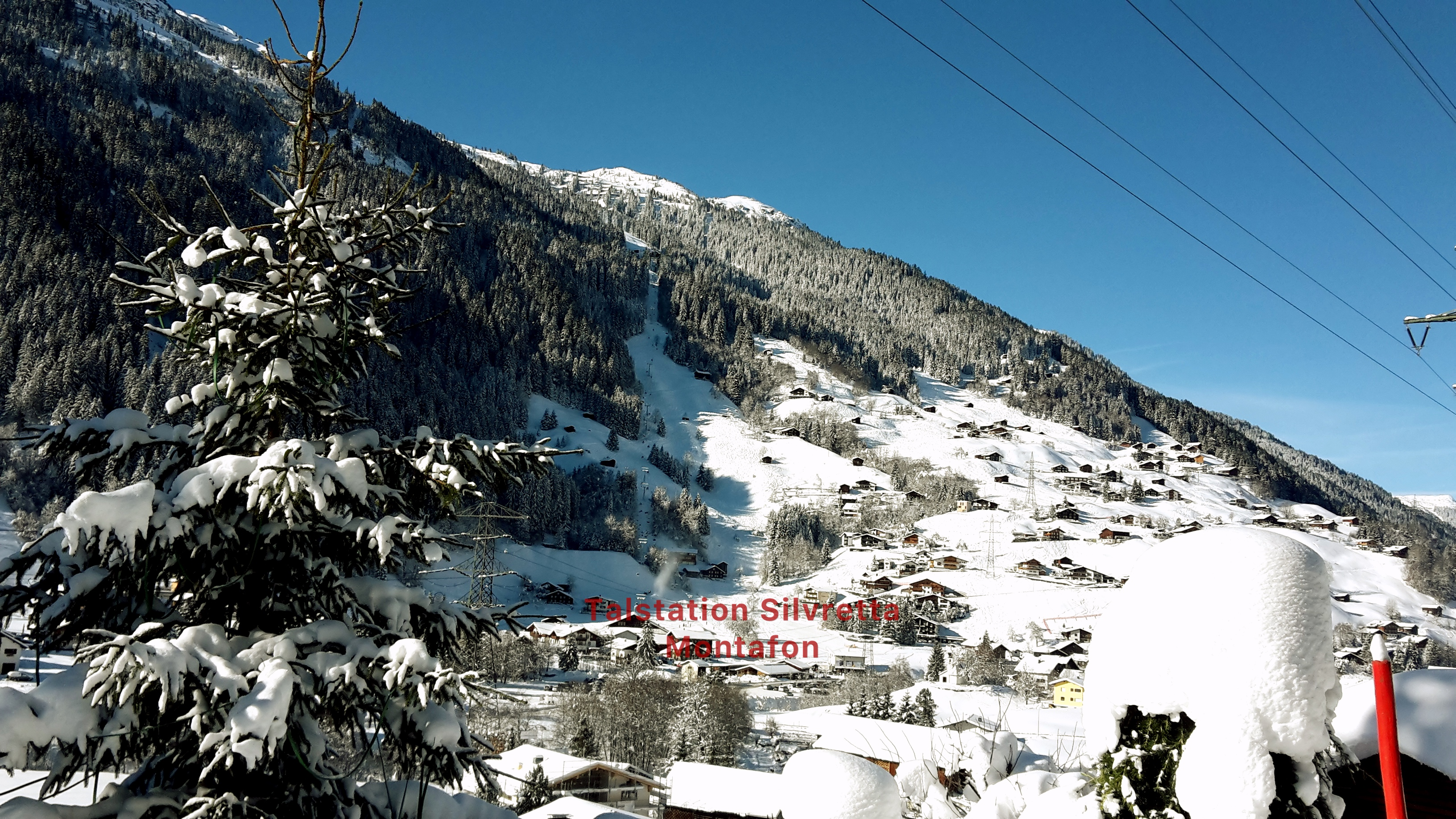 Ausblick zur Talstation SiMo