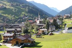 Ausblick Dorf