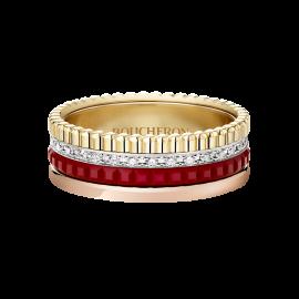 BOUCHERON QUATRE RED EDITION SMALL RING