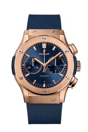 CLASSIC FUSION CHRONOGRAPH KING GOLD BLUE