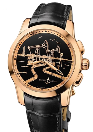 ULYSSE NARDIN HOURSTRIKER OIL PUMP FORCE ROSE GOLD LIMITED EDITION