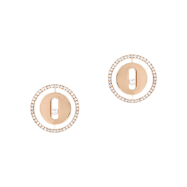 MESSIKA LUCKY MOVE STUD EARRINGS