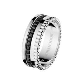 BOUCHERON QUATRE BLACK EDITION SMALL RING