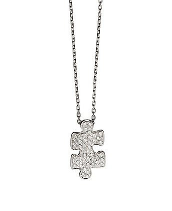 AKILLIS MINI PUZZLE NECKLACE