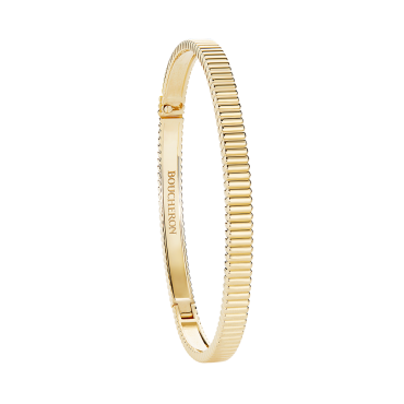 BOUCHERON QUATRE GROSGRAIN BANGLE BRACELET