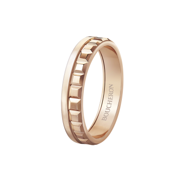 BOUCHERON QUATRE RADIANT EDITION WEDDING BAND RING