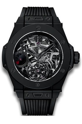 HUBLOT BIG BANG TOURBILLON POWER REVERSE 5 DAYS ALL BLACK