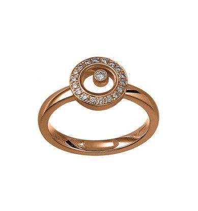 RING CHOPARD HAPPY DIAMONDS ICONS ROUND