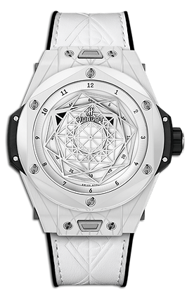 HUBLOT BIG BANG UNICO SANG BLEU CERAMIC WHITE