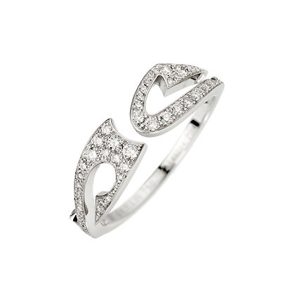 AKILLIS TATTOO RING WHITE GOLD