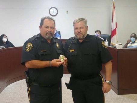 Officer Stephen Scott Promoted