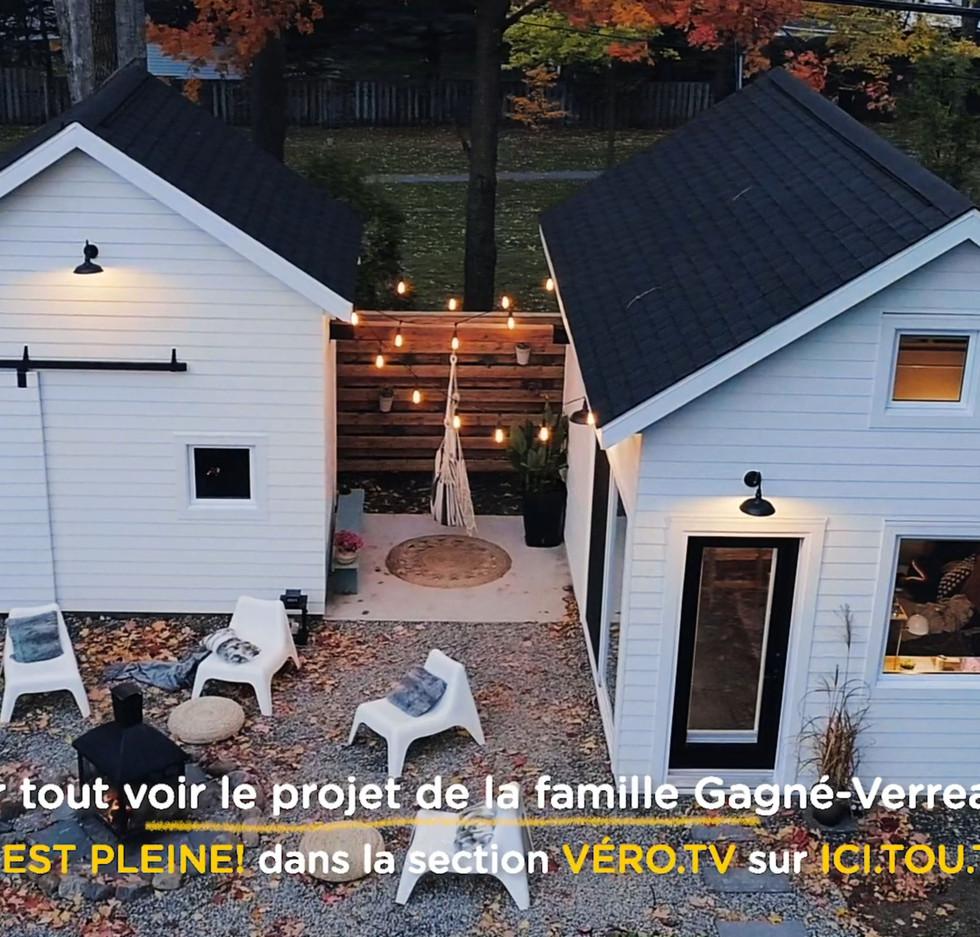 Mini-Maison Verreault (Ici tout.tv)