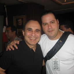 With Latin Jazz Icon Pianist/Composer Michel Camilo after his Master Class (Santo Domingo April 2006)