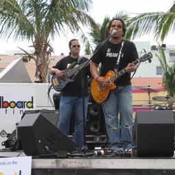 Performing with Recording Artist Monterrosa at a Billboard Latino Show (Miami June 2006)