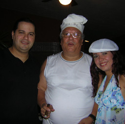 With Latin Music Icon Arturo Sandoval at his birthday party (November 2004)