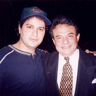 """With Latin Music Legend """"El Príncipe De La Canción"""" Mr. José José (RIP) (Miami Arena - Sunday Feb 8th, 1998)"""