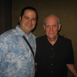 With Bassist/Composer Steve Swallow after their John Scofield Trio Show (Miami April 2007)