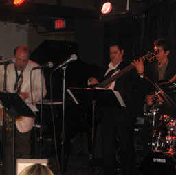 Performing with Grammy-Winner Saxophone Artist Dr. Ed Calle at Arturo Sandoval's Jazz Club (Miami April 2006)