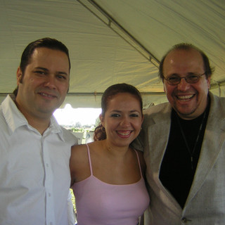 With Grammy-Winner Saxophone Artist Dr. Ed Calle and Yudeski Torres Samá (Miami Nov 2005)