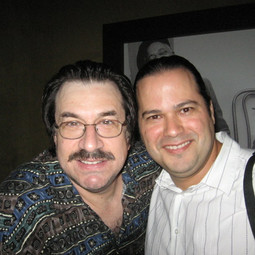 With Bassist/Composer/Educator Jeff Berlin after his show (Miami August 2007)