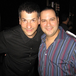 Meeting again with Bassist/Composer John Patitucci after his show (Miami June 2007)