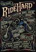 RIDEHARD 2017 CONTENTS & POSTER