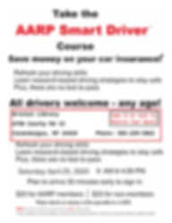 AARP DD Class April 25 2020 wt  address