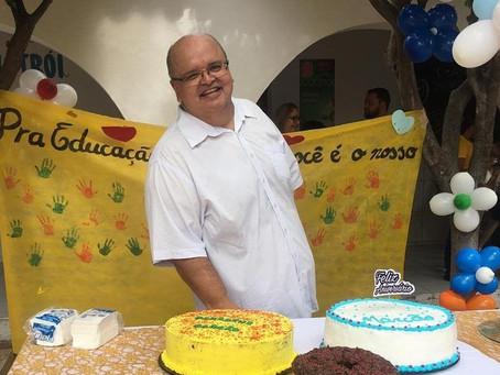 A família Intellectus preparou uma homenagem para comemorar o aniversário do nosso querido Marcão.