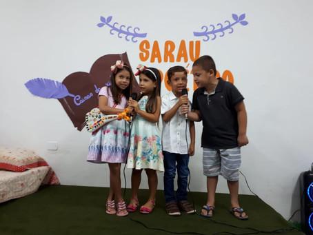 Educação Infantil realiza Sarau Poético