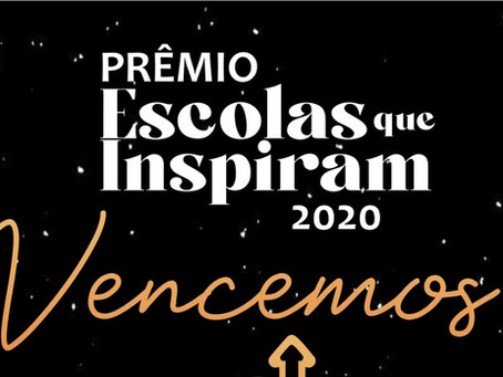 "Intellectus conquista Prêmio ""Escolas que inspiram 2020"""