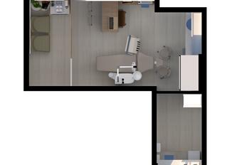 Projeto de Consultório Odontológico - A sala é pequena demais?
