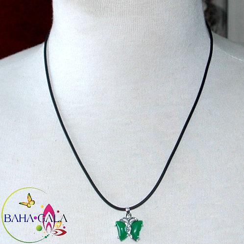 Jade Butterfly Pendant.