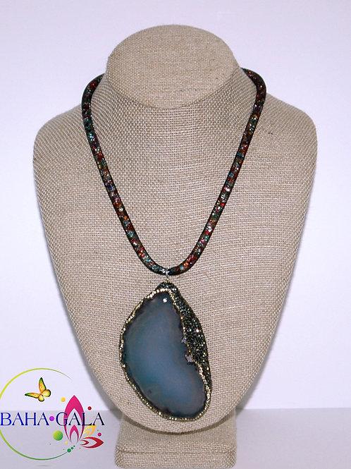 Natural Agate Pendant.